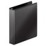 """Wilson Jones Ultra Duty Round Ring View Binder with Extra Durable Hinge, 1 1/2"""", Black, 12 Pack"""