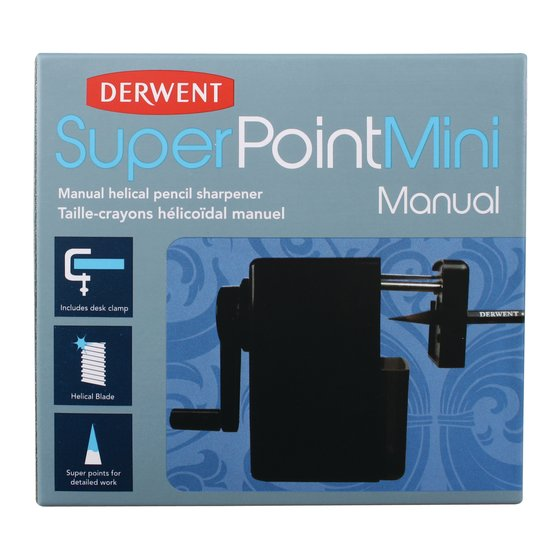 Super Point Mini Manual Sharpener