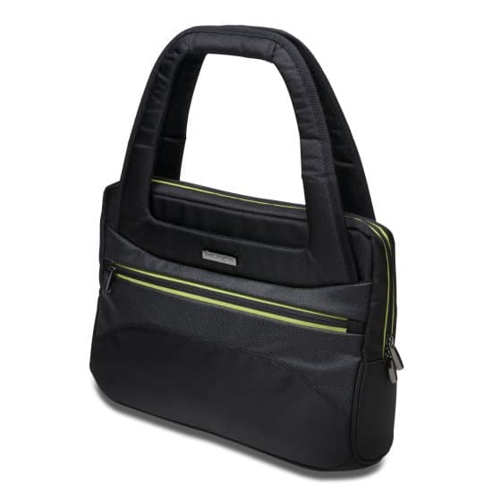 "Triple Trek™ Ultrabook™ Optimized Tote - 14""/35.6cm - Black"