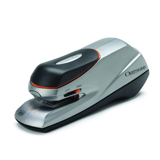 Swingline Optima Grip Electric Stapler, 20 Sheets, Silver