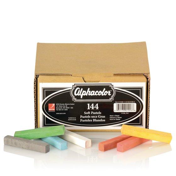 Alphacolor® Soft Square Pastels, Basic Assortment