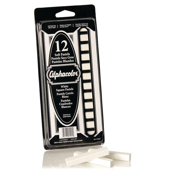 Alphacolor® Soft Pastels, White