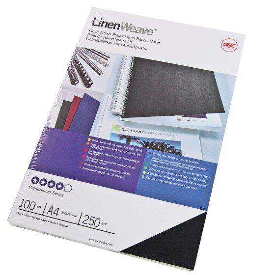 LinenWeave Thermal Binding Covers