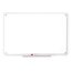 "Quartet® iQ™ Total Erase® Whiteboard, 11"" x 6 3/4"", Translucent Frame"