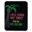 Quartet® Black Dry-Erase Marker Board, 3' x 2', Black Frame & Surface