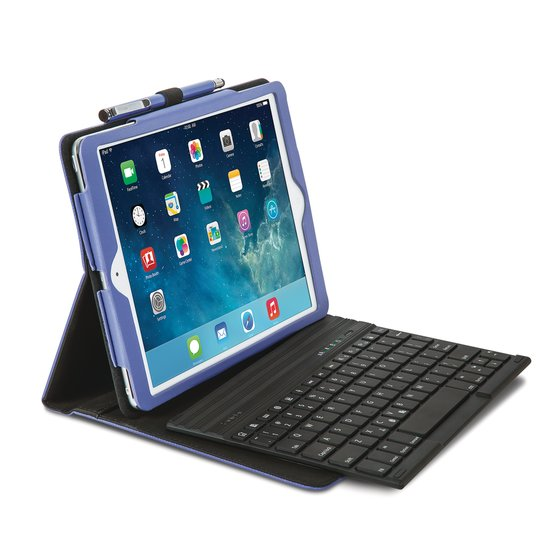 KeyFolio Pro™ - Folio with Keyboard for iPad Air™ - Purple