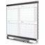 Prestige 2 Magnetic Four Month Calendar Board, 3' x 2', Total Erase Surface
