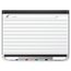 """Prestige 2 Magnetic DuraMax Porcelain Planning System, 3' x 2' Board with 1"""" x 1"""" Grid"""
