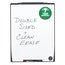 "Quartet Motion® Board, 30"" x 40"", Total Erase® Whiteboard Surface"