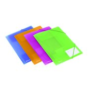 Plastic Flap Folders