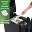 Swingline Stack-and-Shred 230X Auto Feed Shredder, Super Cross-Cut, 230 Sheets, 1-5 Users