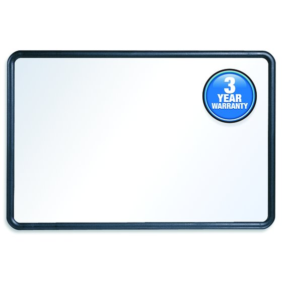 Quartet® Contour® Whiteboards, Plastic Frame