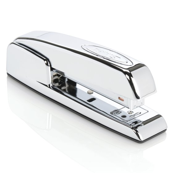 Swingline 747 Polished Chrome Stapler, 25 Sheets, Silver Chrome
