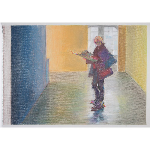 Woman in Hall