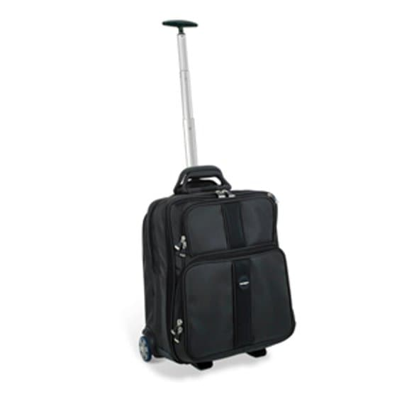 "Contour™ Overnight Laptop Roller - 15.6""/39.6cm - Black"