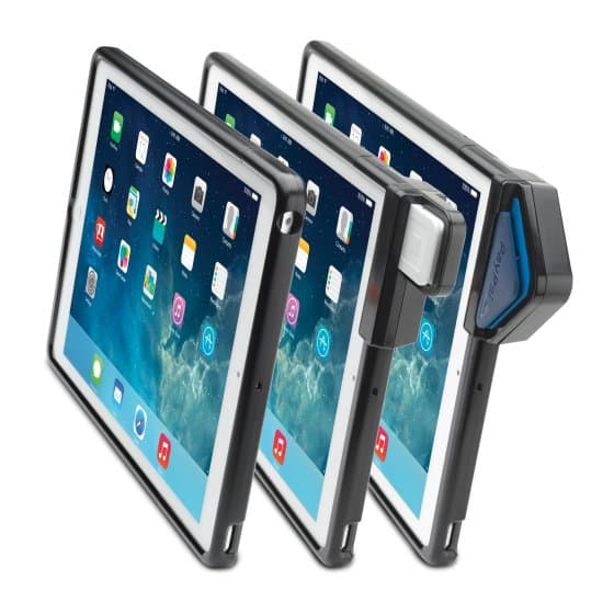 SecureBack™ M Series Modular Enclosure with CCR for iPad Air™ — Black