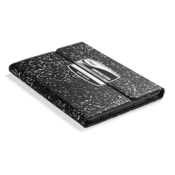 "Composition Book Universal Case for 9 and 10"" Tablets — Black"
