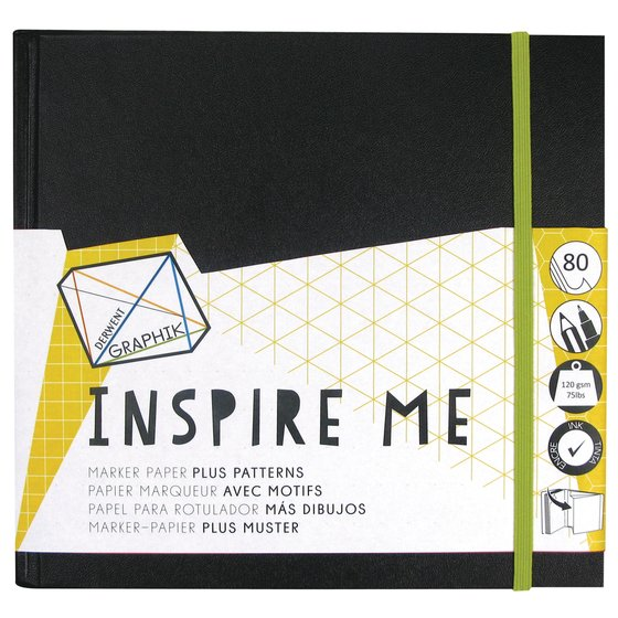 Derwent Graphik Inspire Me book Medium