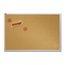 Quartet® Natural Cork Bulletin Board, 4' x 8', Aluminum Frame