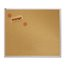 Quartet® Natural Cork Bulletin Board, 4' x 4', Aluminum Frame