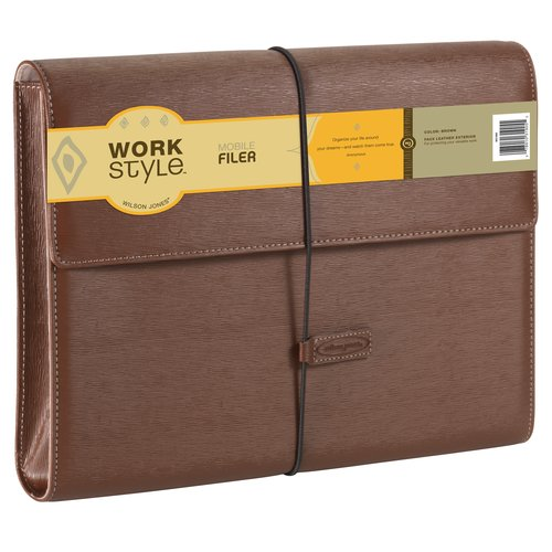 Wilson Jones® Cut and Sewn File Pockets