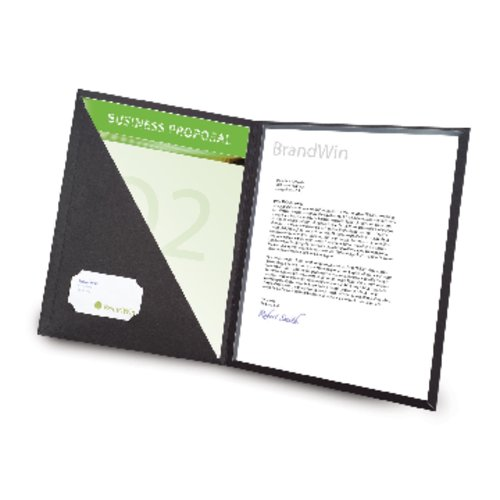 GBC Cover Letter Portfolio, 50pcs - New