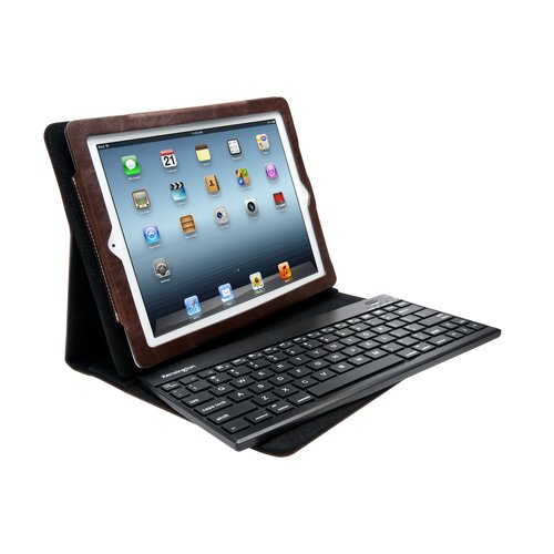 KeyFolio™ Pro 2 Removable Keyboard, Case & Stand - Brown