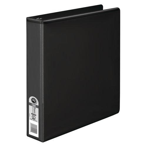 Wilson Jones® 362 Basic Round Ring View Binders, 1 1/2""