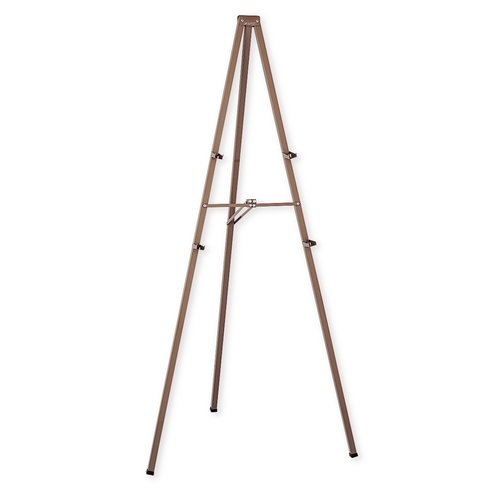 "Quartet® Steel Tripod Display Easel, 72"", Fold-Out Brackets"