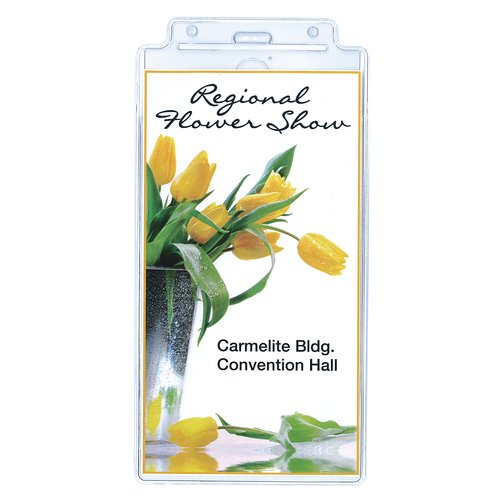 Swingline® GBC® Event Badge Holder, Clear, 25 Pack