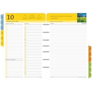 Serenity 2-Page-Per-Day Diary Refill