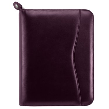 Verona Leather Organiser - Zippered