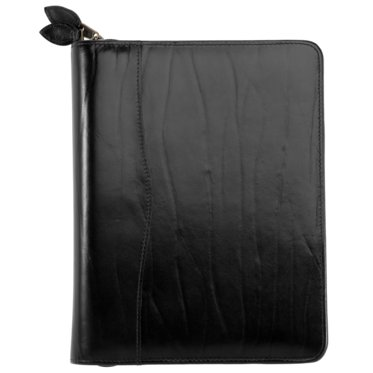 Western Coach Leather Binder - Zippered