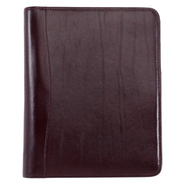 Desk size - Western Coach Leather Binder - Open