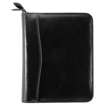 Desk size - Western Coach Leather Binder - Zippered