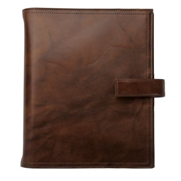 Desk size - Outback Leather Binder - Snap-Tab