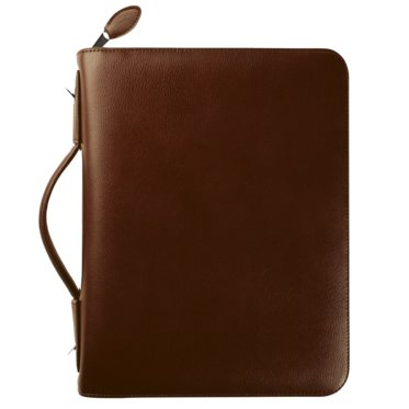 Armorhide Leather Binder - Zippered with Handles