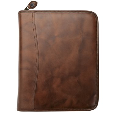 Desk size - Outback Leather Binder - Zippered