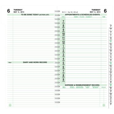 Indexed 2-Page-Per-Day Wire-Bound Planner