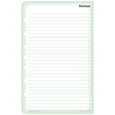 Traditional Green Note Pads