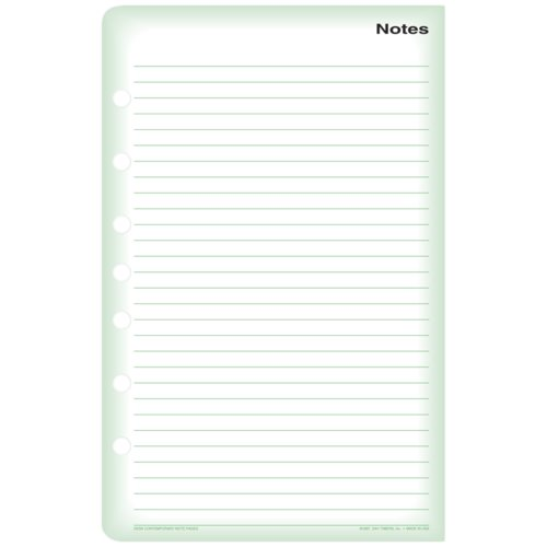 Standard Note Sheets
