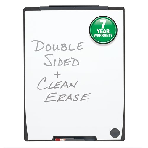 "Quartet Motion® Board, 30"" x 40"", Total Erase® Whiteboard Surface"