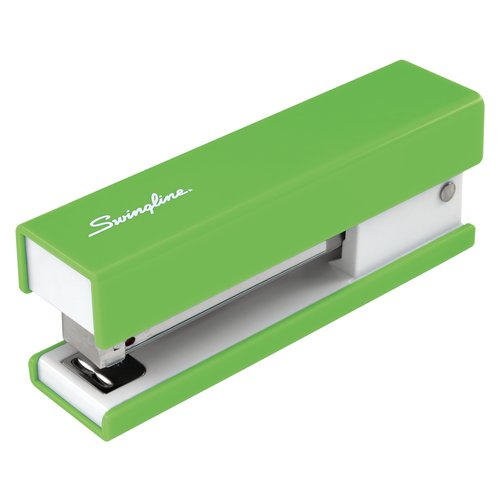 Swingline®  Fashion Stapler, 20 Sheets, Solid, Green
