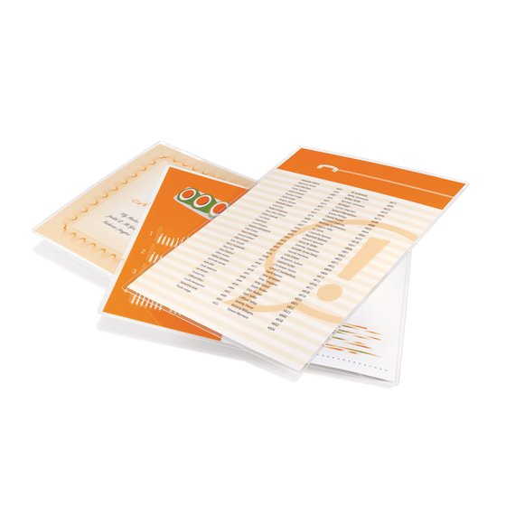 GBC UltraClear Thermal Laminating Pouches, Letter Size, 3 mil, 100 Pack (3745022)