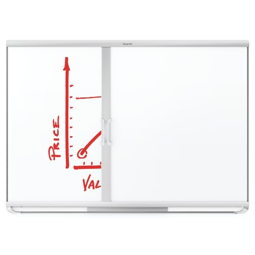Quartet® Prestige 2 Connects™ Full Board Eraser, 4' x 3' Board Compatible