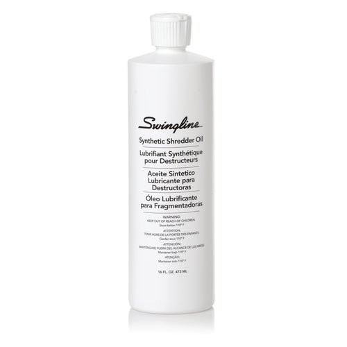 Swingline® Shredder Oil, 16 oz., 473 ml Bottle