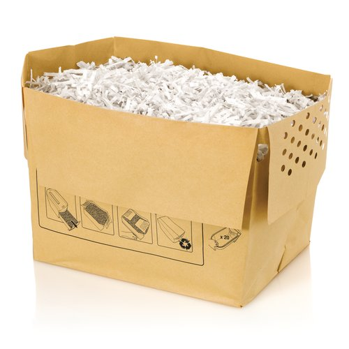 Swingline® 6 Gallon Recyclable Paper Shredder Bags, For Executive Shredders, 20/Pack