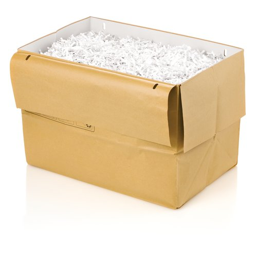 Swingline® 13 Gallon Recyclable Paper Shredder Bags, For Departmental Shredders, 5/Pack