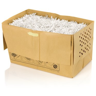GBC  5 Gallon Recyclable Paper Shredder Bags, For Stack-and-Shred 80X Shredder, 5 Pack