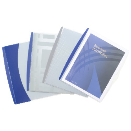 GBC® Presentation Sleeve, Punchless, 10 Sheets, Assorted Designs